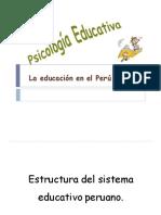 2.1 La Educación en El Perú