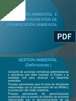 3.Gestión Ambiental e Instrumentos de Planificación