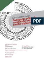 Participacion Politica de Comunidades Nativas y Pueblos Originarios Del Peru Modulo de Capacitacion