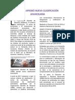 LA OMA APROBÓ NUEVA CLASIFICACIÓN ARANCELARIA.docx