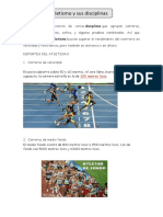 El Atletismo y Sus Disciplinas