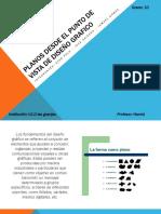 Planos Desde El Punto de Vista de Diseño Grafico