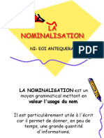 La Nominalisation