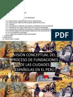 Ciudades Españolas en El Perú