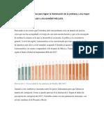 Las Reformas Prioritarias Para Lograr La Disminución de La Pobreza y Una Mayor Equidad Que Facilite La Paz y Una Sociedad Más Justa