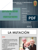 Mutaciones y Sindromes