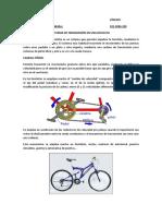 Sistema de Transmisión en Una Bicicleta