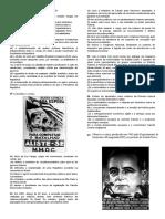 Lista Geral de História
