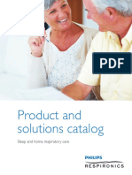 Product and Solutions Catalog Respironics
