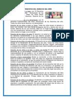 10 Principios Del Derecho Del Niño