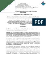 RESOLUCIÓN No  1207 de 7 de Noviembre de 2012  Determinantes Ambientales- Áreas Protegidas