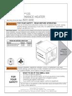 pentair master temp 125 manual