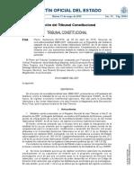Tribunal Constitucional sobre competencias CCAA (Valencia) BOE a 2016 5194