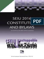 SEIU Constitution Bylaws