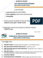VANCOMICINA+ZOSYN E ANTIFUNGICOS