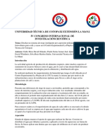 Universidad Técnica de Cotopaxi Extensión La Maná