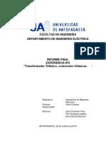 Informe 2 Maq Electrica (2)