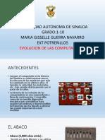 Evolucion Computadoras Maria Gisselle