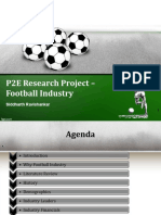 Research Project Football Industry