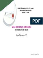 260940191 4GPE Diaporama Cours Reacteurs Gaz Liquide