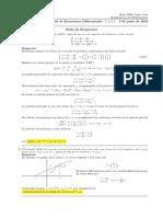 Corrección segundo parcial de cálculo III, lunes 3 junio (tarde) de 2019