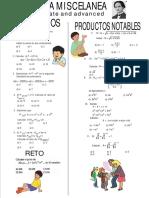 Miscelanea de Algebra