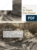Overview St Francis Dam Failure