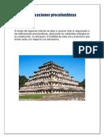 Arquitectura de los pueblos precolombinos