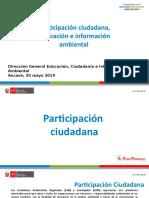 2. Participación Ciudadana, Educación e Información Ambiental - GPR Ancaash