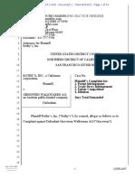 Rothy's v. Giesswein Walkwaren - Complaint