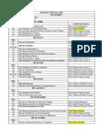 Fechas Cívicas 2019 y Calendario