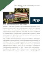 Los Amos Del Narcotrafico Mundial La Dea El FBI y La CIA