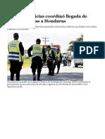 Banda de Policías Coordinó Llegada de Narcoavionetas a Honduras