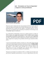 El régimen mintió   Hernández usó Tasa de Seguridad para comprarse avión presidencial.docx