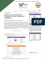 Fonoaudiologia Treino Do Fonema D