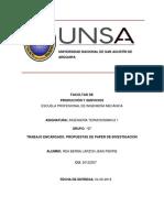 Propuestas de Paper de Investigacion