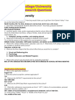 college 2funiversity search questions - high point university