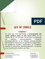 LEY 29812