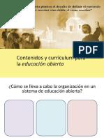 contenidos para la educacion abierta