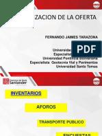Diapositivas Transporte Urbano Clase 5 Caracterizacion de La Oferta.
