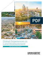 Global experiences in land readjustment