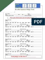 Walk Sponsor Sheet