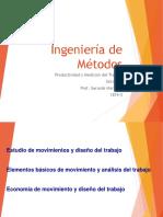 Unidad v. Ingeniería de Métodos Principios 1819-3