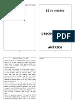 Lectura con ejercicio sobre el descubrimiento de América