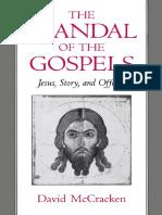 The Scandal of the Gospels
