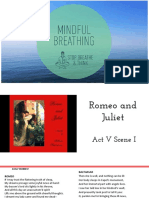Act V Scene 1 Romeo and Juliet- lesson