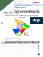 onhecimentos Gerais Do Estado de Sergipe Aula 05 Clima e as 8 Microrregioes