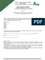 Pregão Presencial 010 2019 Aquisição de Merenda Para o Ensino Médio Retificado