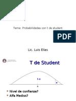 2- Probabilidades Con t Student