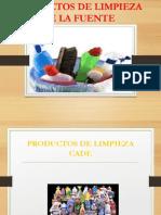 PRODUCTOS DE LIMPIEZA CADE.ppt